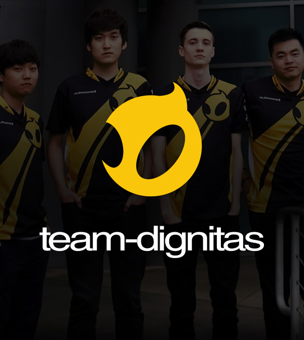 Team Dignitas Website Redesign